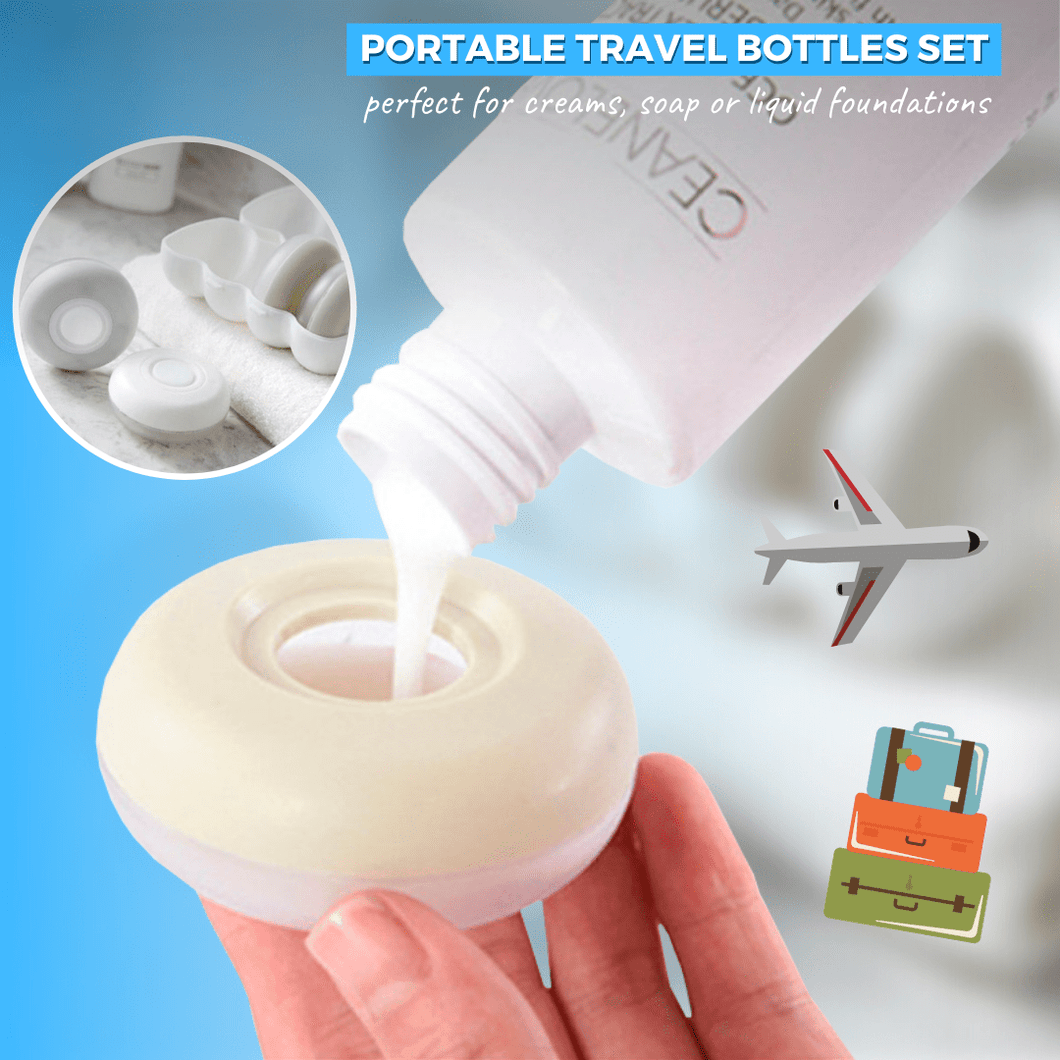 Travel Buddy - Portable Travel Bottles (4 pcs set) Travel Bottles