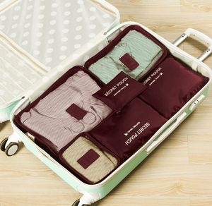 Trouble-free Travel - Luggage Packing Organizer Set Travel Bags