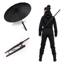 Load image into Gallery viewer, Umbrellas 24 ribs Samurai® - Ninja Sword Umbrella