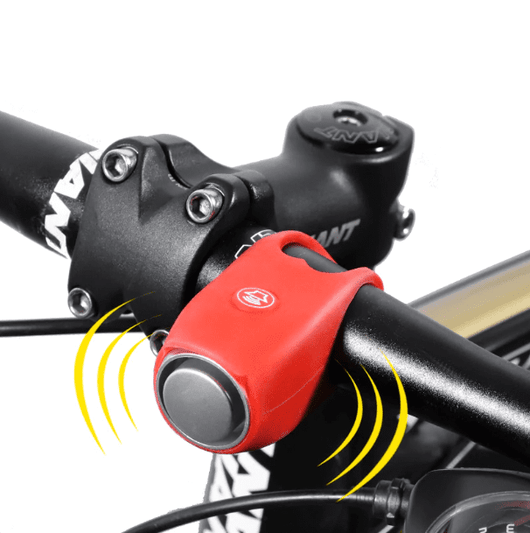 Universal Fit Bike Bell Red Bicycle Bell