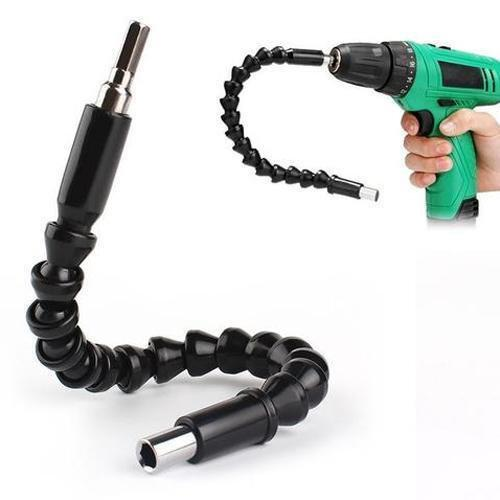 Universal Flexible Drill Shaft Black Power Tool Accessories