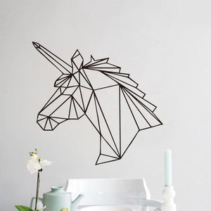 Wall Stickers Geometric Unicorn Wall Decal