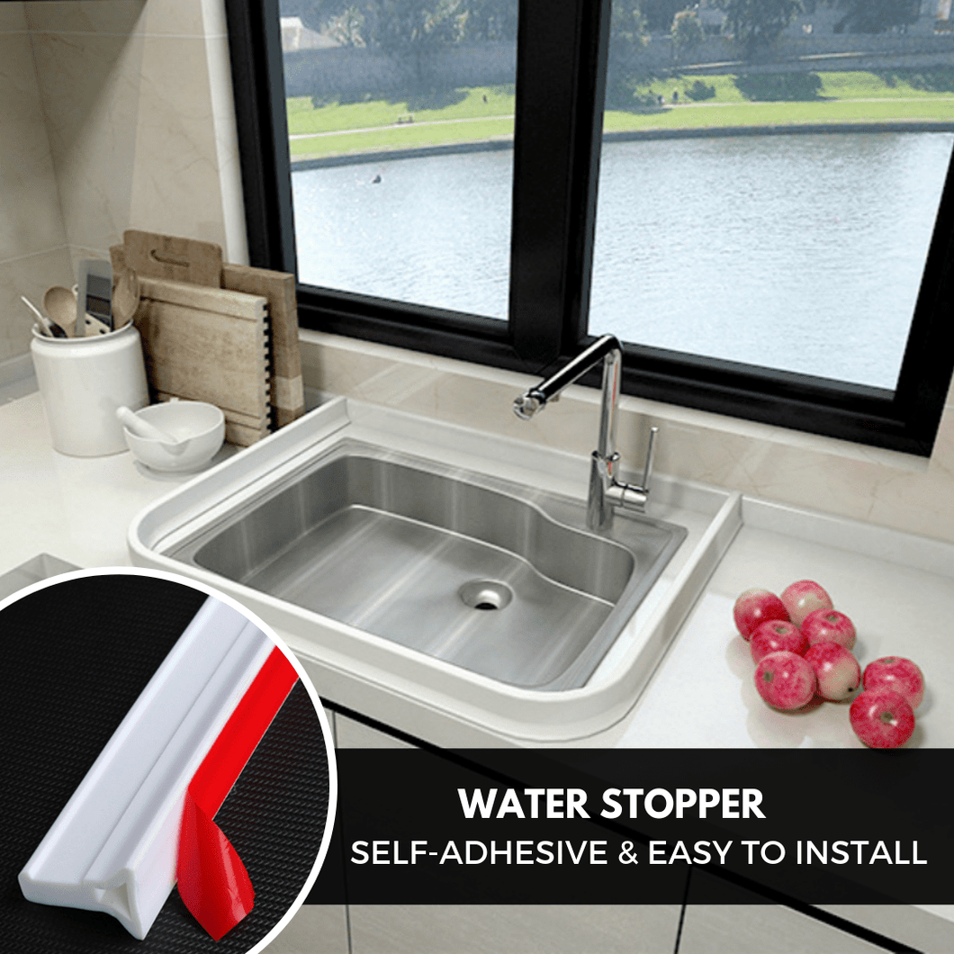 Water Stopper - Bathroom & Kitchen Barrier (1 meter) Bath Mats