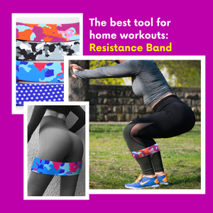 Workout With Style - Fitness Bands [In demand] Pink camo / S Resistance Bands