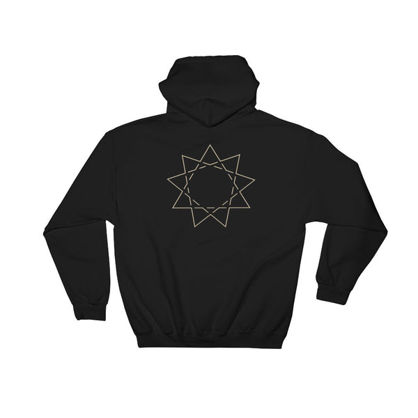 Baha'i Star Hooded Sweatshirt
