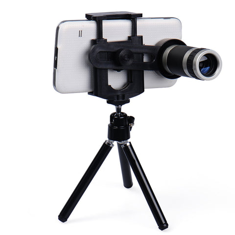 HD Zoom 360 8X18 Telescope Camera Lens With Tripod