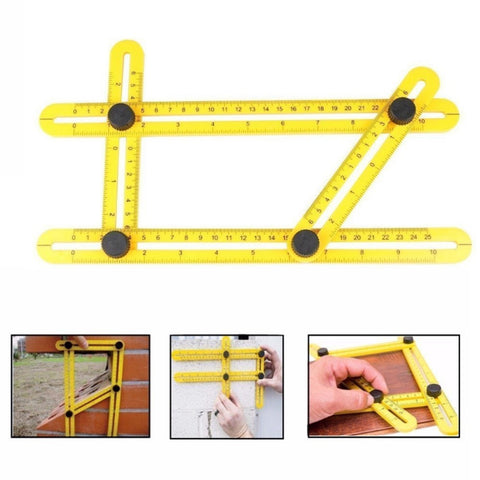Multi-Angle Measuring Template Tool