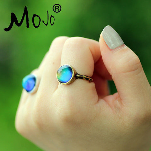 Antique Bronze Plated Mood Ring