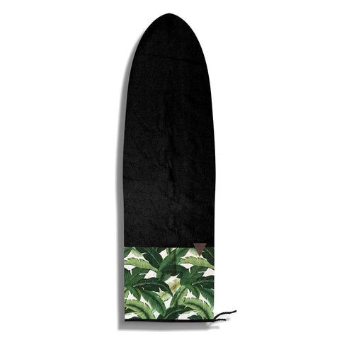 Tropical Palm Surf Sock
