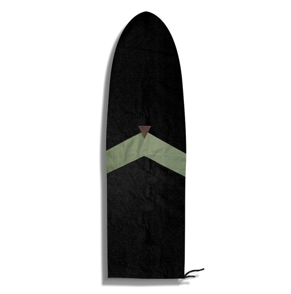 Green Stikes | Surf Sock