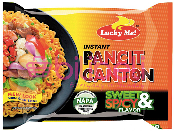 Lucky Me! Pancit Canton Sweet & Spicy