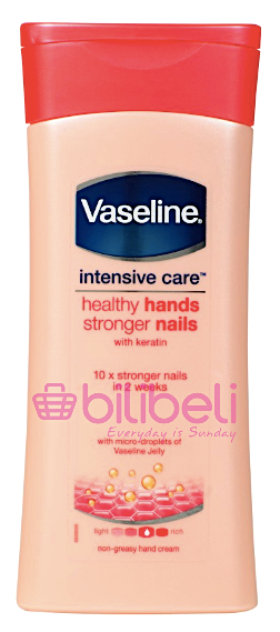 Vaseline Intensive Care Healthy Hands Stronger Nails Lotion 200 ml