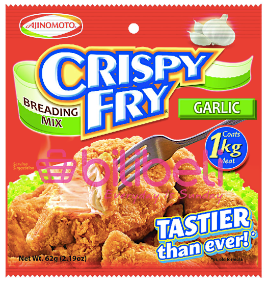 Ajinomoto Crispy Fry Breading Garlic Mix 60g