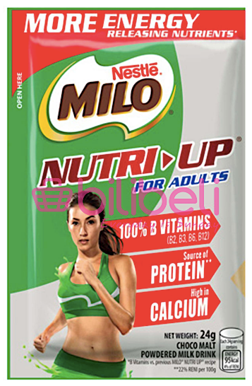 Milo Nutri-Up For Adults 24g / Sachet