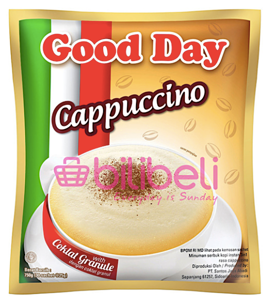 Good Day Cappuccino 25g 1 pack / 30 sachets