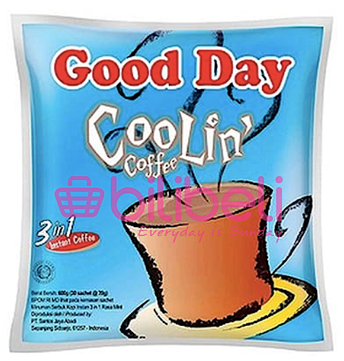 Good Day Coolin' Coffee 20g 1 pack / 30 sachets
