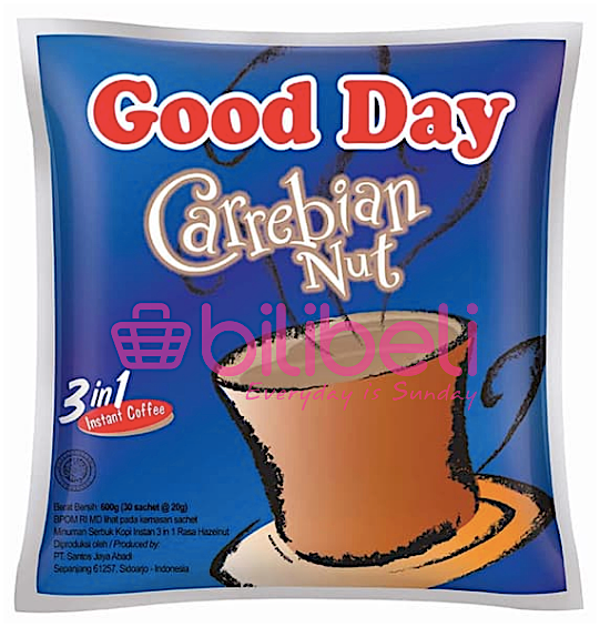 Good Day Carrebian Nut 20g 1 pack / 30 sachets