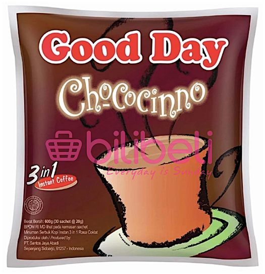 Good Day Chococinno 20g 1 pack / 30 sachets