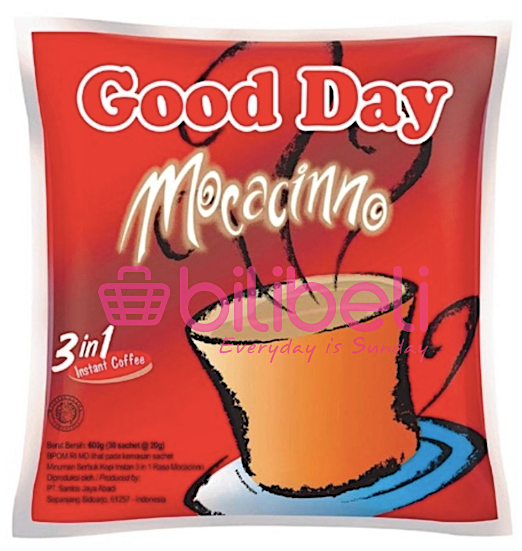 Good Day Mocacinno 20g 1 pack / 30 sachets