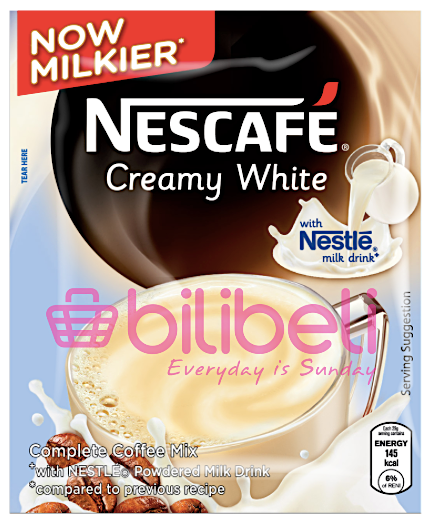 Nescafe Creamy White 3in1 1 Pack / 10 Sachets