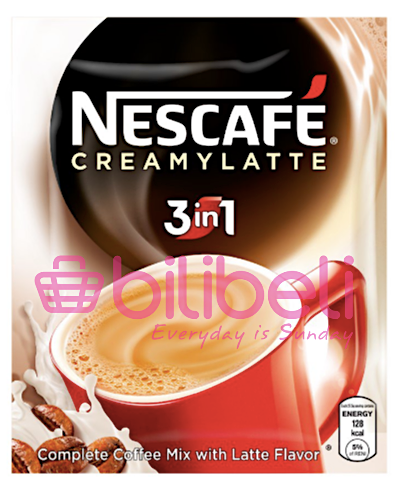 Nescafe Creamy Latte 3in 1 1 Pack / 10 Sachets