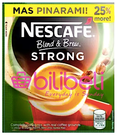 Nescafe Blend & Brew Espresso Strong 3in1 1 Pack / 10 Sachets