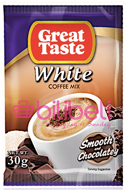 Great Taste White Smooth & Chocolatey 1 Pack / 10 Sachets