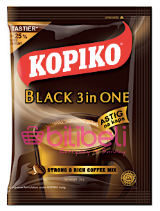 Kopiko Black 3in1 1 Pack / 10 Sachets
