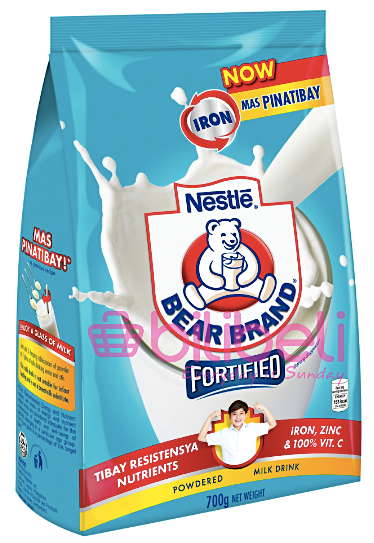 Bear Brand Fortified Powdered Milk Drink 700g