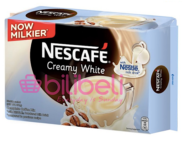 Nescafe Creamy White 3in1 1 Pack / 30 Sachets