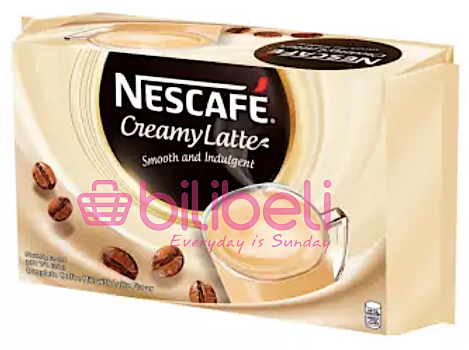 Nescafe Creamy Latte 3in1 1 Pack / 30 Sachets