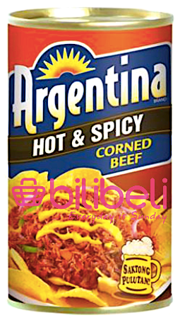 Argentina Corned Beef Hot & Spicy 175g