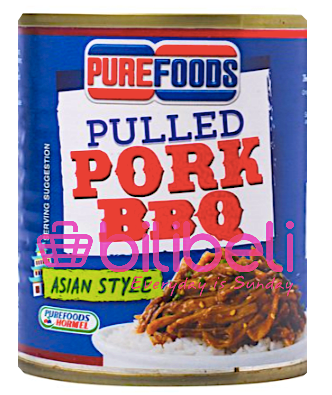 Purefoods Pulled Pork BBQ Asian Style 210g