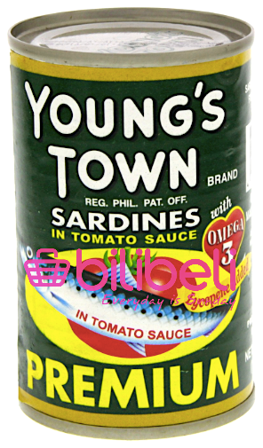 Young's Town Sardines in Tomato Sauce 155g