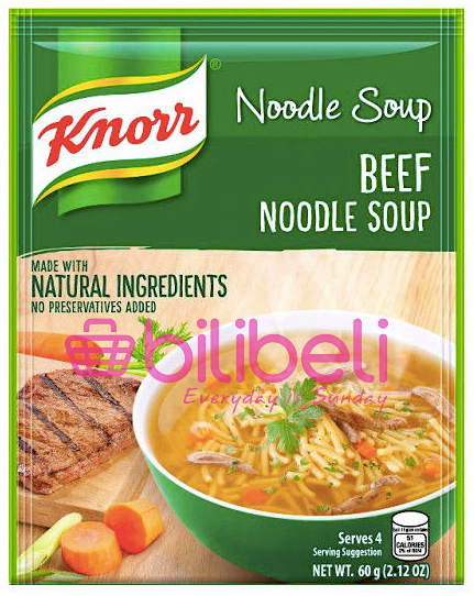 Knorr Beef Noodle Soup Mix 60g