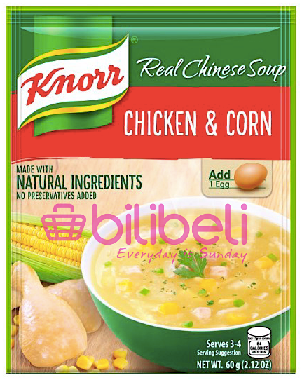Knorr Chicken & Corn Soup Mix 60g