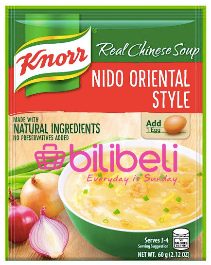 Knorr Nido Oriental Style Soup Mix 60g