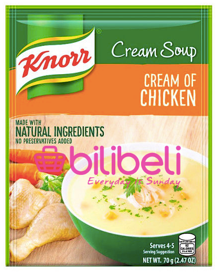 Knorr Cream of Chicken Soup Mix 70g