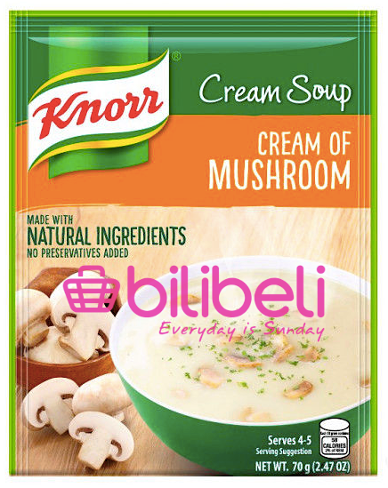 Knorr Cream of Mushroom Soup Mix 70g