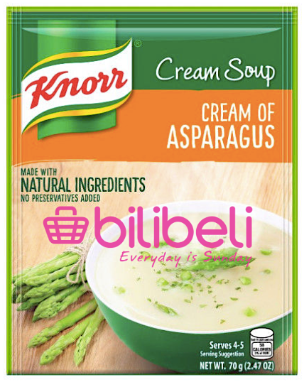 Knorr Cream of Asparagus Soup Mix 70g