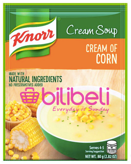 Knorr Cream of Corn Soup Mix 80g