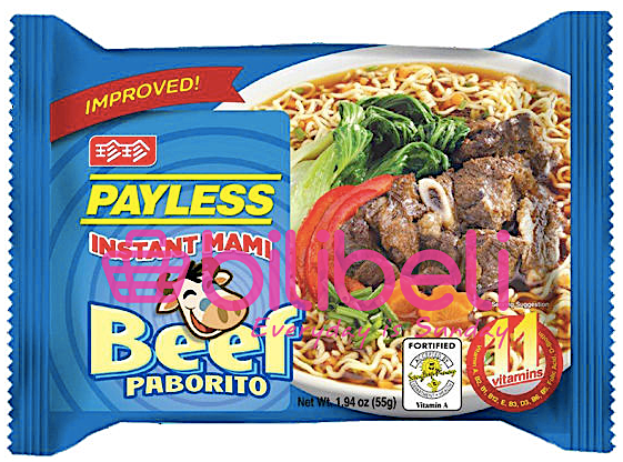 Payless Mami Beef Flavor