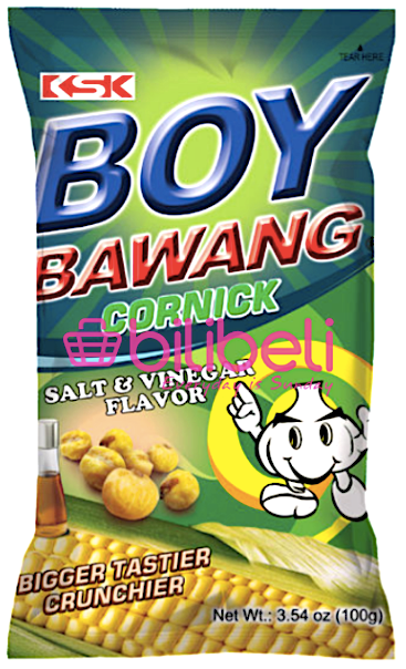 Boy Bawang Salt & Vinegar Cornick 100g