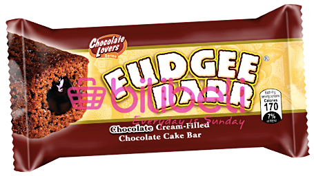 Fudgee Barr Chocolate Cream-Filled Cake Bar 1 pack / 10 pcs