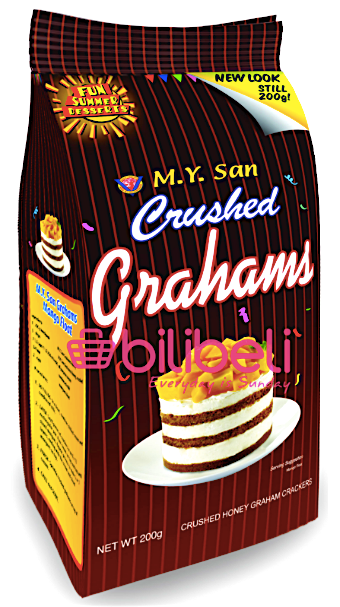 M.Y San Graham Crushed Honey Biscuit 200g