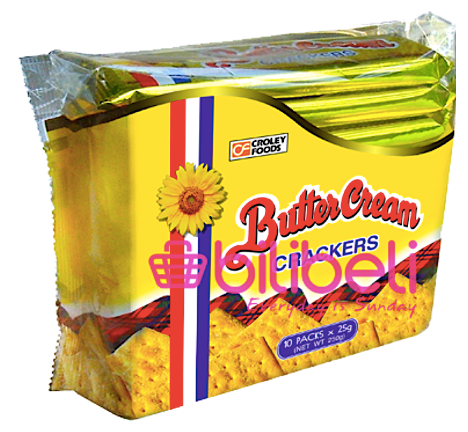 Croley Foods Butter Cream Original Crackers 1 pack / 10 pcs