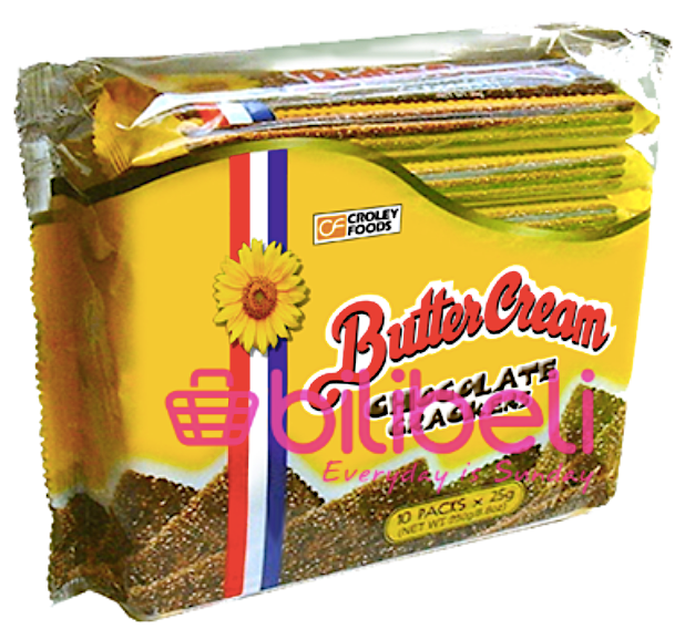 Croley Foods Butter Cream Chocolate Crackers 1 pack / 10 pcs