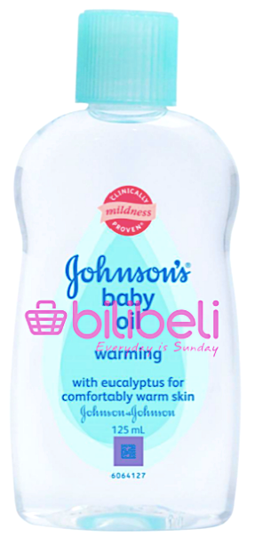 Johnson's Baby Oil Warming 125 ml