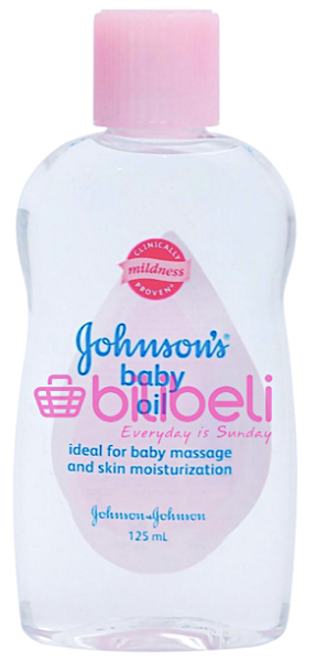 Johnson's Baby Oil 125 ml