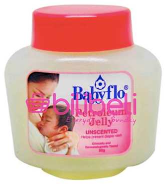Babyflo Petroleum Jelly Unscented 50g